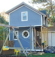 References minneapolis garage construction for Playhouse with garage plans